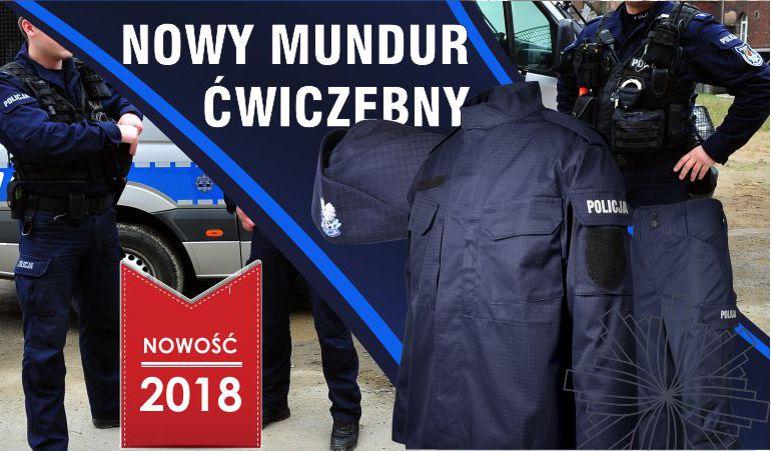 Nowy mundur ćwiczebny POLICJI